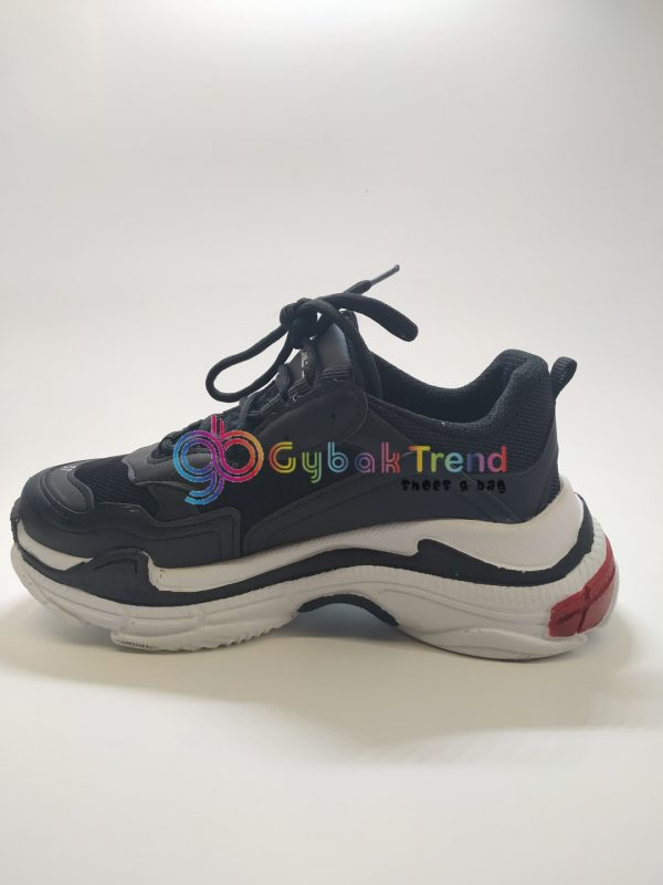 Çakma Balenciaga Siyah Erkek-Bayan Ayakkabı