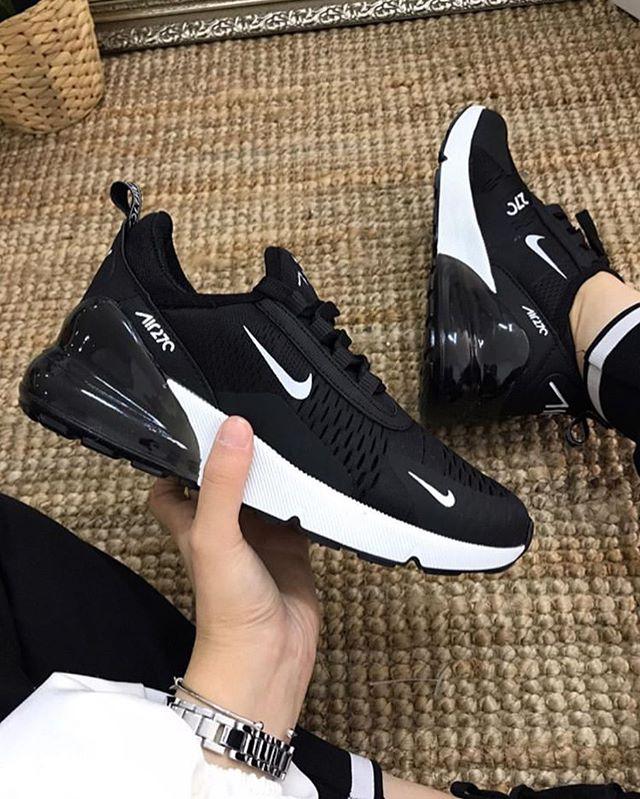 Replika Nike Air 270 Unisex Siyah Ayakkabı