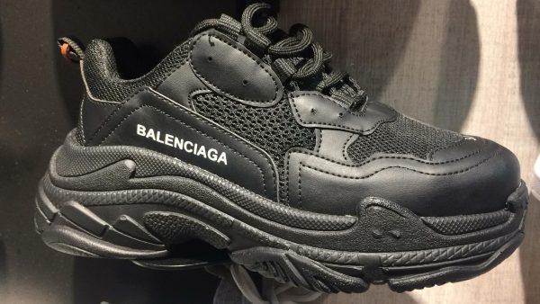 balenciaga triple s black and grey off 57%