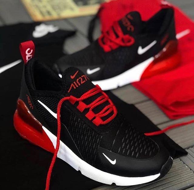Replika Nike Air270 Siyah Erkek-Bayan Günlük Ayakkabı
