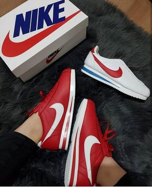Replika Nike Cortez Kırmızı Ayakkabı