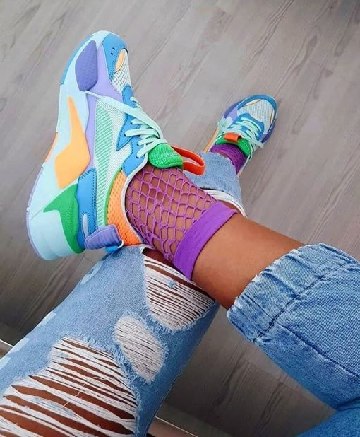 Replika Puma Karışık Renkli Ayakkabı