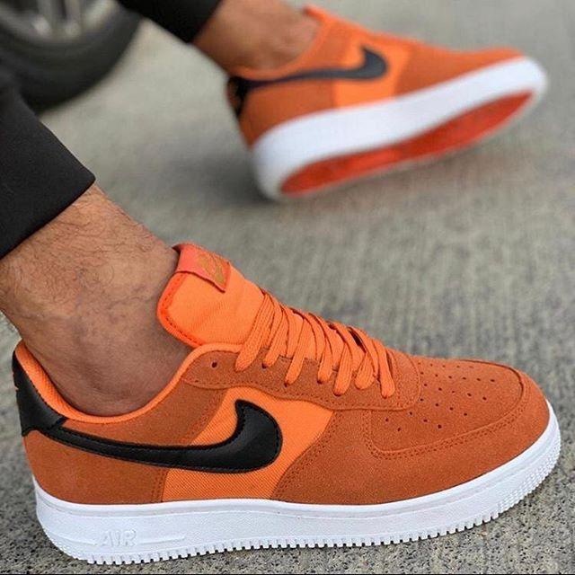 Replika Nike Air Erkek Ayakkabı Turuncu