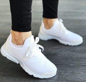 Replika Nike Duralon Beyaz Erkek-Bayan Günlük Spor Ayakkabı