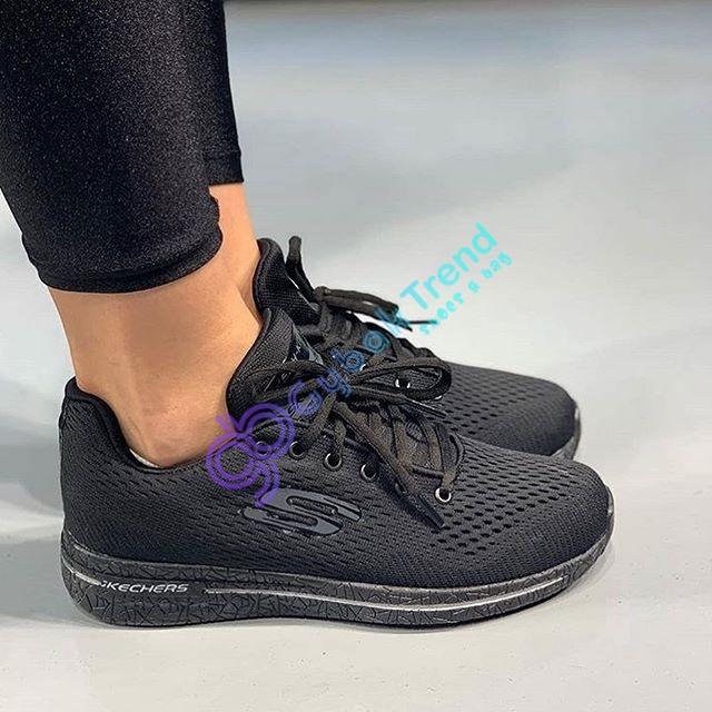 Çakma Skechers Siyah Unisex Ayakkabı