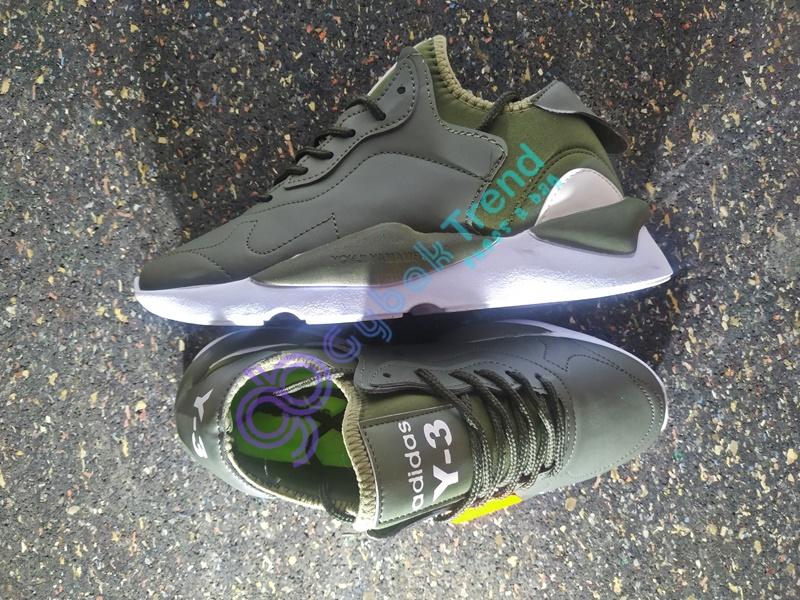 Replika Adidas Yeezy Y-3 Haki Erkek Günlük Ayakkabı