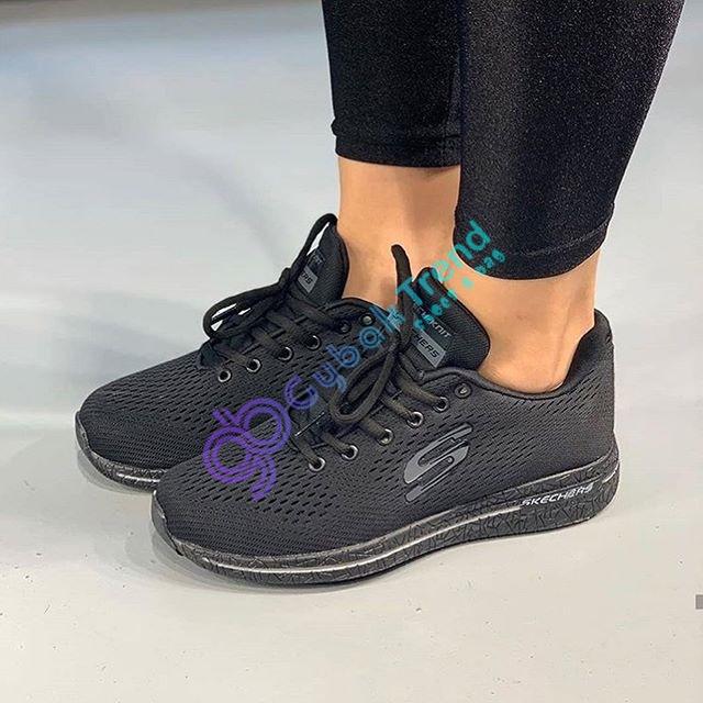 Replika Skechers Siyah Unisex Ayakkabı