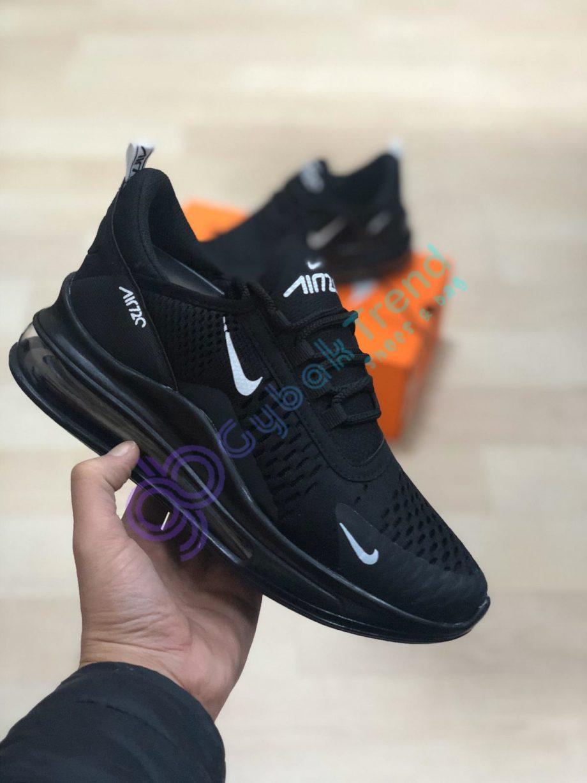 Replika Nike Air720 Siyah Erkek Günlük Spor Ayakkabı