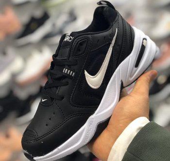 Kaliteli Çakma Nike Air Monarc Siyah Spor Ayakkabı