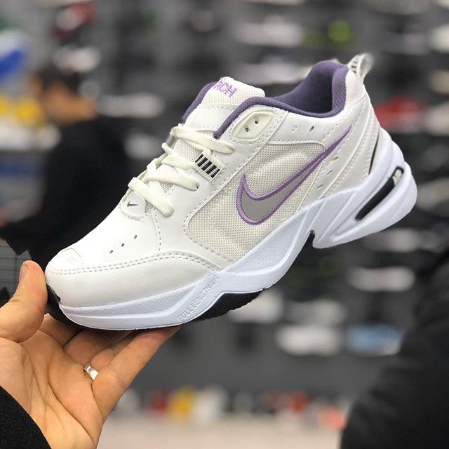 Kaliteli Replika Nike Air Monarch Beyaz Erkek-Bayan Spor Ayakkabı