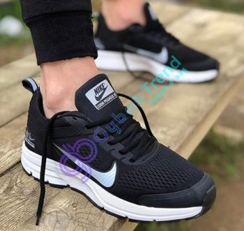 Replika-Çakma Nike Zoom Pegasus Siyah Erkek Spor Ayakkabı