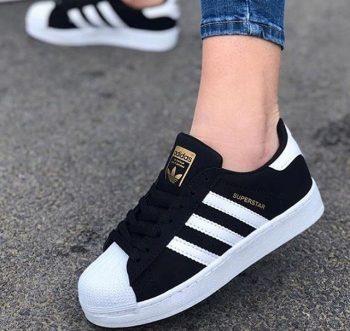Kaliteli Replika-Çakma Adidas SuperStar Siyah Günlük Ayakkabı