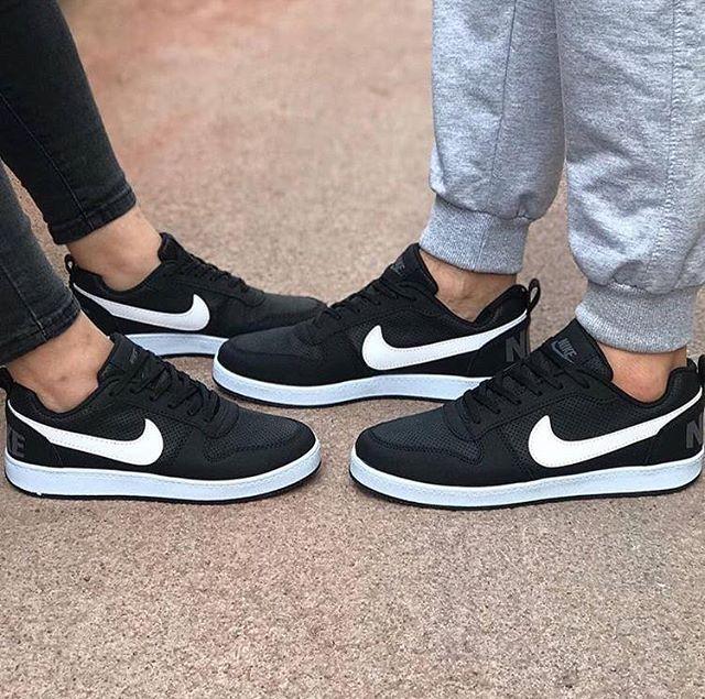 Kaliteli Replika Nike RNB Siyah Beyaz Erkek Bayan Günlük Ayakkabı