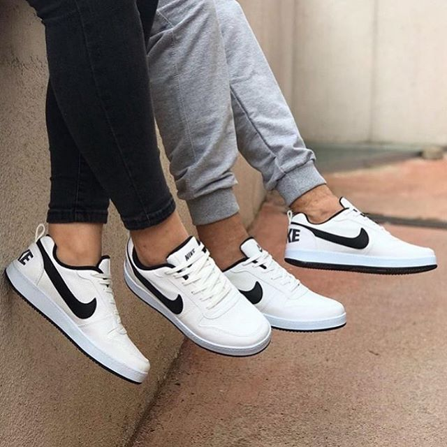 Replika-Çakma Nike RNB Beyaz Siyah Erkek Bayan Günlük Ayakkabı