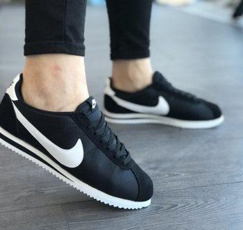 Kaliteli İmitasyon Nike Cortez Siyah Erkek-Bayan Spor Ayakkabı