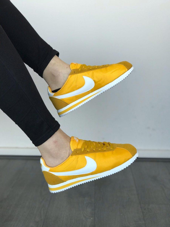 Replika-Çakma Nike Cortez Hardal Erkek-Bayan Spor Ayakkabı