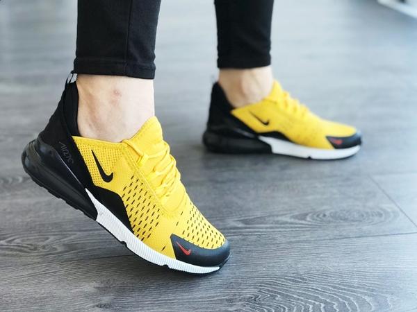 Replika Nike Air270 Sarı Spor Ayakkabı