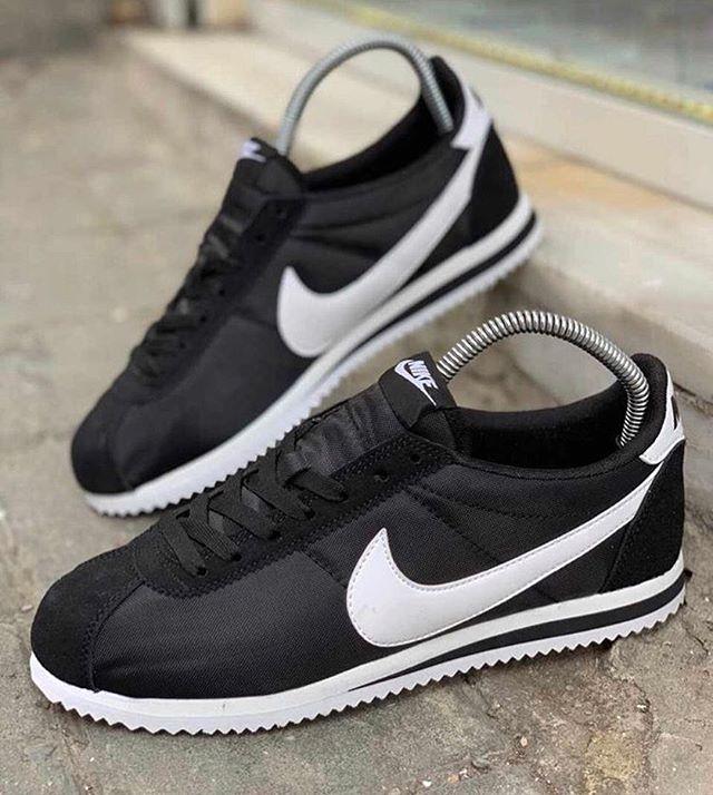Replika Nike Cortez Siyah Spor Ayakkabı