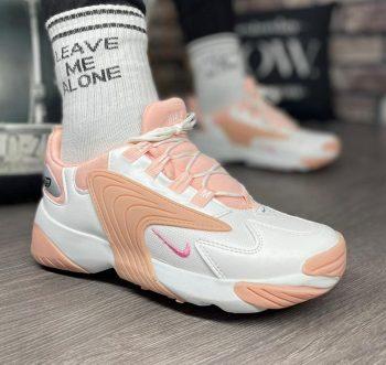 Replika Nike Zoom 2K Pudra Bayan Spor Ayakkabı
