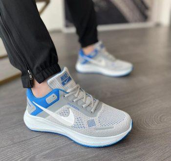Replika Nike Zoom X Gri Mavi Erkek Spor Ayakkabı 2021