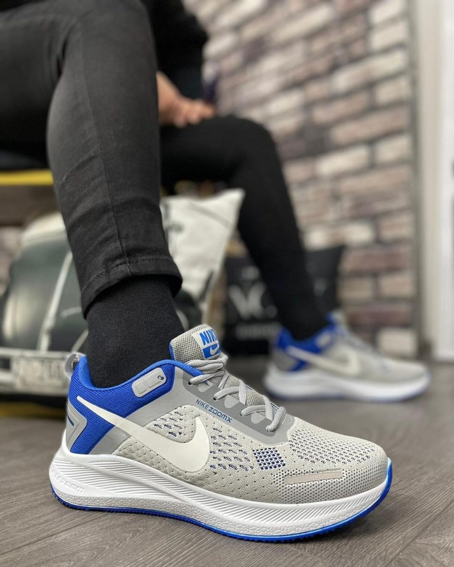 Replika Nike Zoom X Gri Mavi Spor Ayakkabı