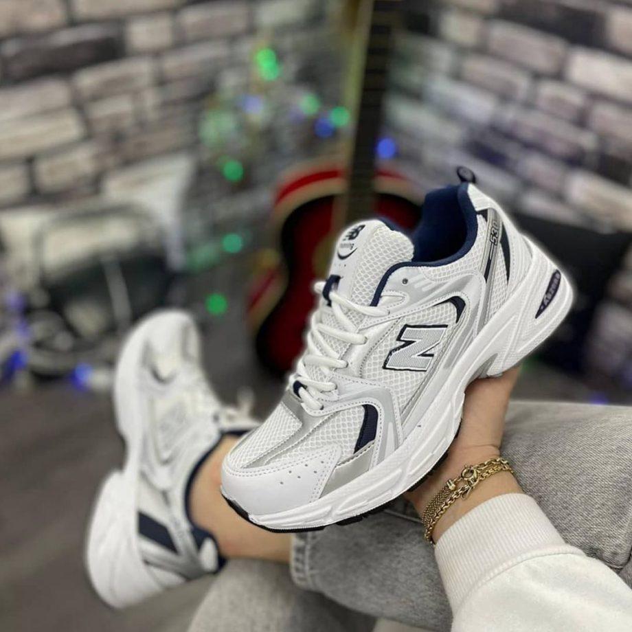 Replika New Balance 530 Beyaz Spor Ayakkabı