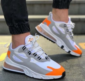 Replika Nike React Gri Spor Ayakkabı