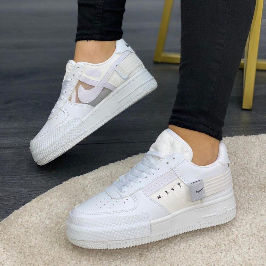 Replika Nike Air Force N354 Beyaz Ayakkabı