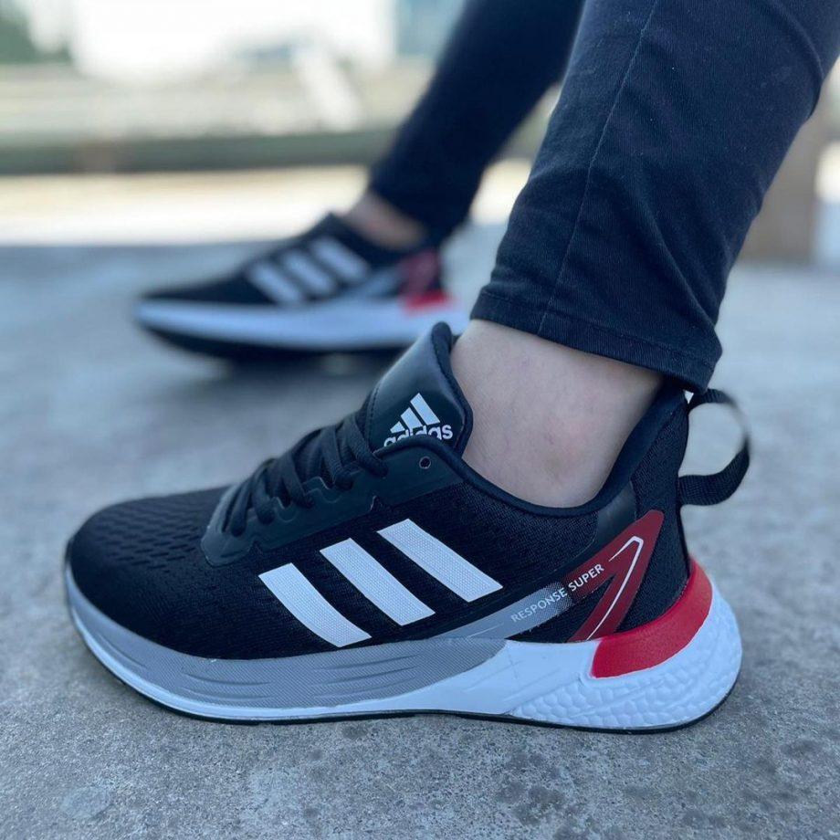 Replika Adidas Response Siyah Spor Ayakkabı