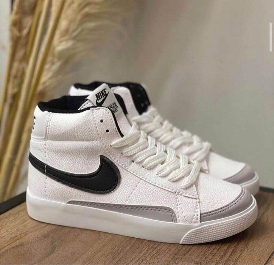 Replika-Nike-Blazer-Beyaz-Siyah-Ayakkabı